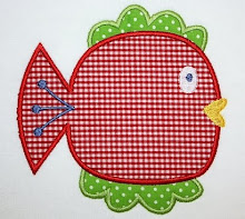 Happy Fish Applique