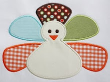 Fat Turkey Applique