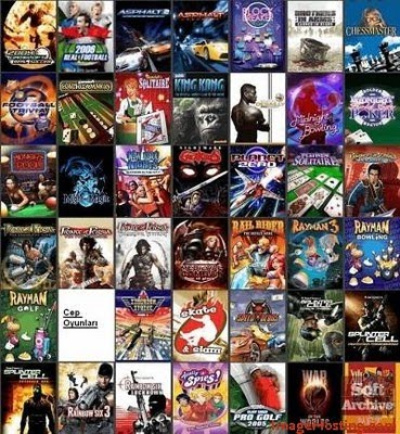 225 java mobile games collection