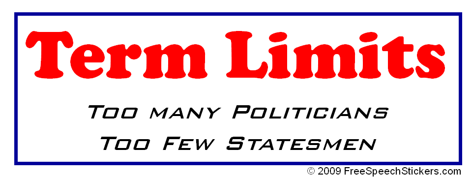 TERM LIMITS  
