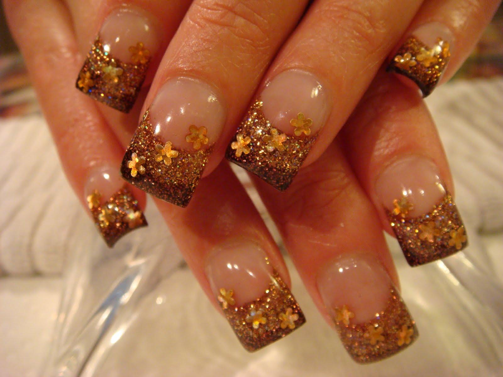 Fall Acrylic Nail Design – ledufa.com