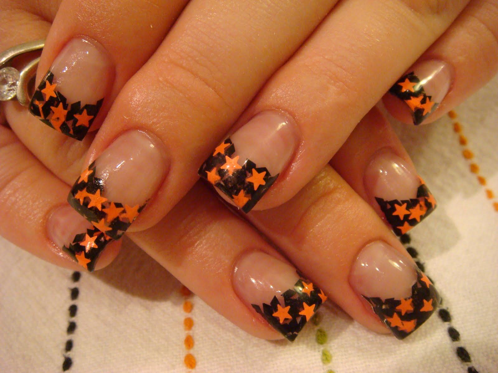 Halloween nails acrylic more - Nail art halloween ...