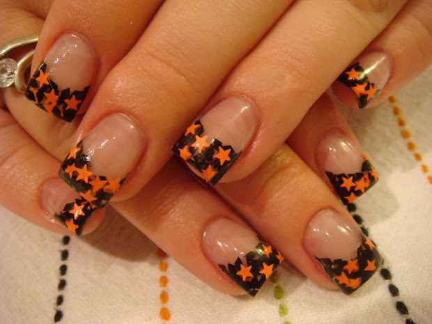 halloween nails acrylic &
