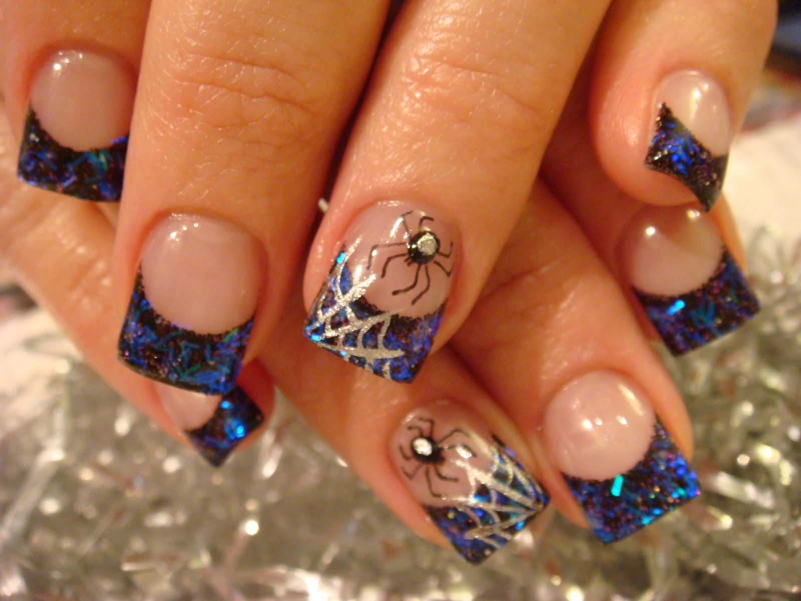 Nail art october 2010 - Nail art halloween ...