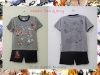 Stelan baju kartun anak Tom and Jerry