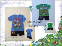 koleksi baju kartun anak