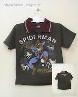 Atasan Baju anak Spiderman, Putri Busana