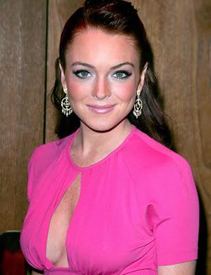 lindsay lohan mean girls cleavage. Lindsay Lohan
