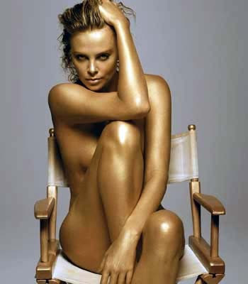 Charlize Theron strips down for The Burning Plain