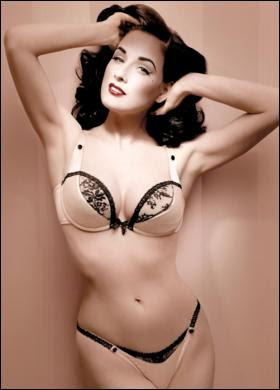 Dita Von Teese French fancy