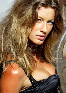 Gisele Bundchen strips off for Aids charity appeal