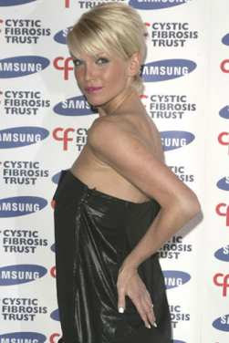 Sarah Harding Puts Plants Before Parties