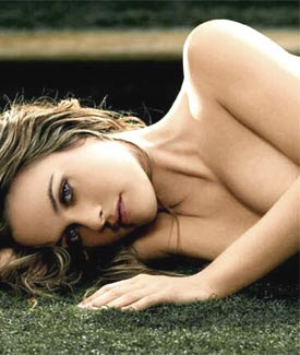Alicia Silverstone loves to garden in the nude