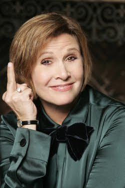 Carrie Fisher Heads to Sorority Row