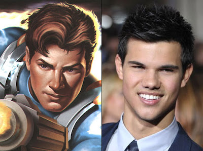 Taylor Lautner has been cast as the superhero Max Steel