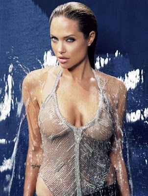Sexy Angelina Jolie graces the cover of Vanity Fair