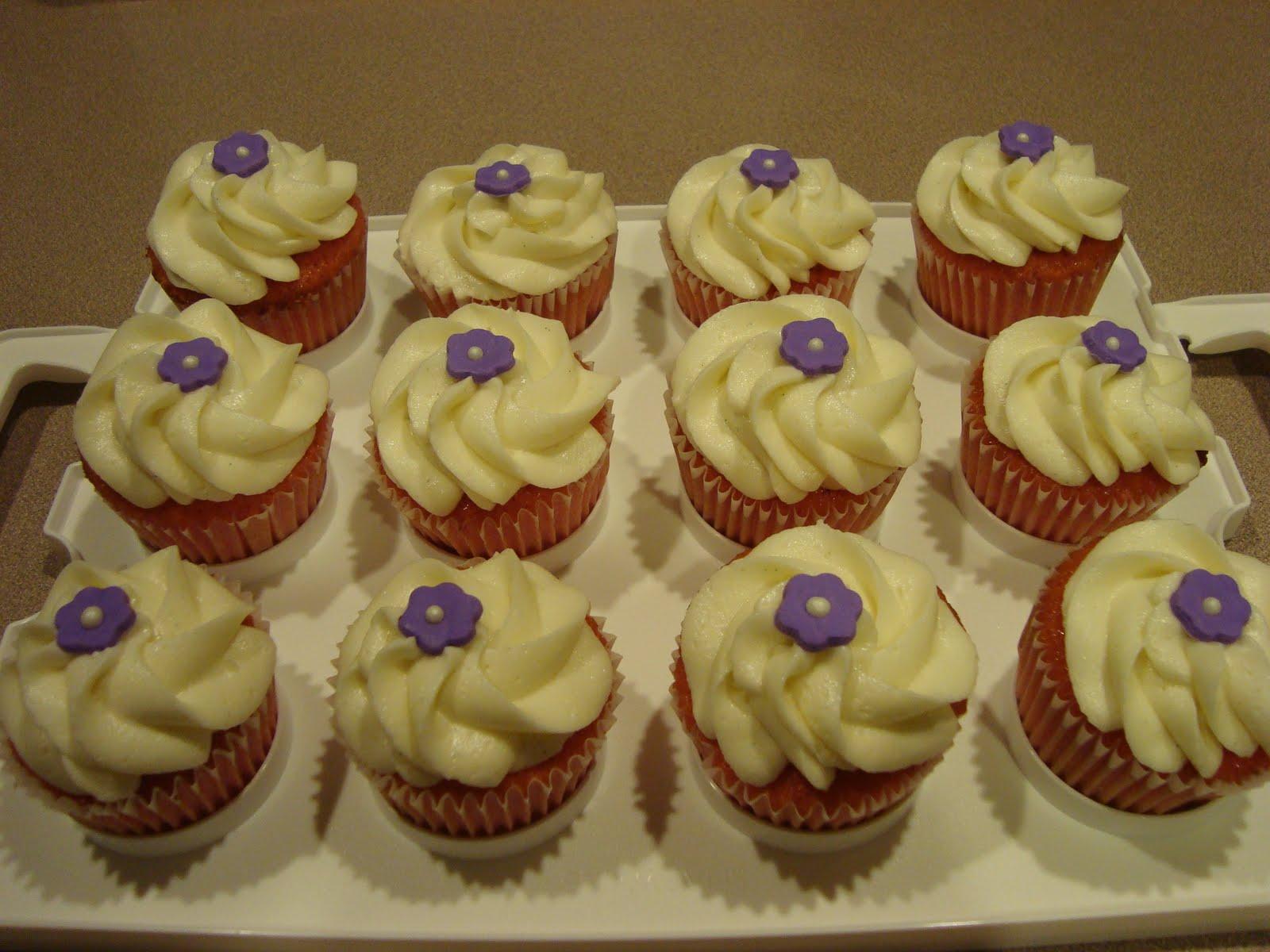 Short sweet gourmet cupcakes bridal shower cupcakes for Wedding shower cupcakes