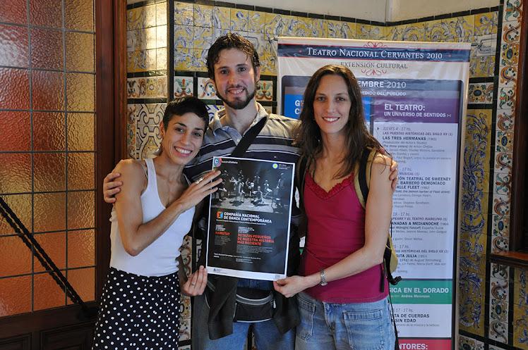 Última función 2010 en el Teatro Nacional Cervantes