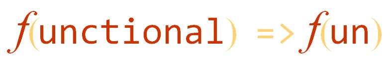 Functional Fun