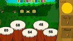 Multiplicação: Escolha um valor para a tabela e resolva corretamente as questões