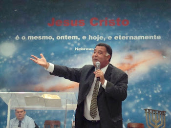 Rev. Márcio, responsável pelas igrejas embriãos no Estado.