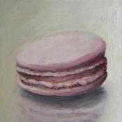 Macaron oil painting