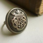 Vintage military ring