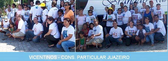 VICENTINOS - CONS. PARTICULAR JUAZEIRO-BA