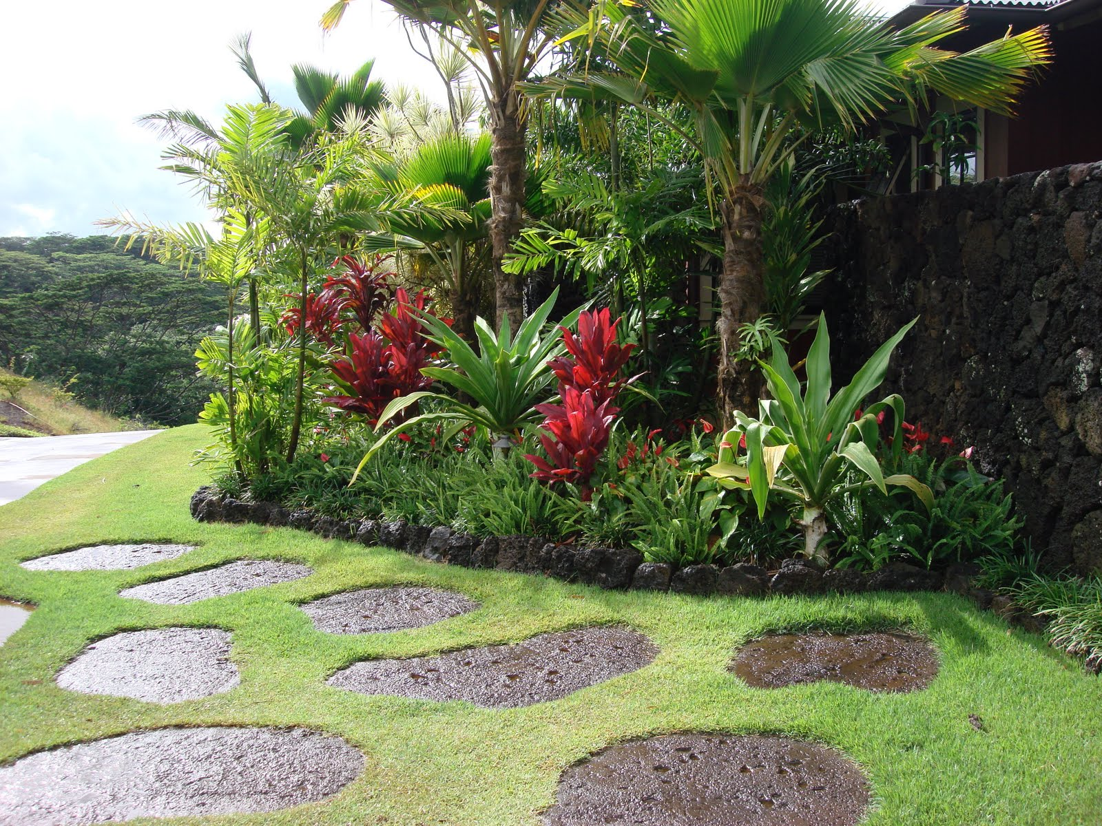 Kauai landscaper no ka oi landscape services blog for Tropical landscape