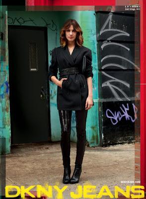 street fashion DKNY Jeans campaign Scott Schuman  The Sartorialist Alexa Chung