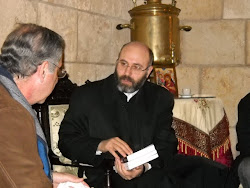 Dean (Bishop) Ghattas Hazin of Theological Faculty, Univ. of Balamand
