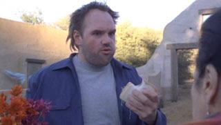 randy, me llamo earl, my name is earl, eating, comiendo, sandwich, ethan suplee, rincon, simiopata