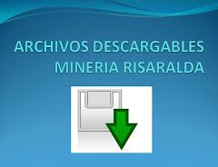 ARCHIVOS DESCARGABLES MINERIA