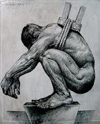 Dibujos en lápiz sobre madera. Publicado por miguelartro en 16:13 el descanso