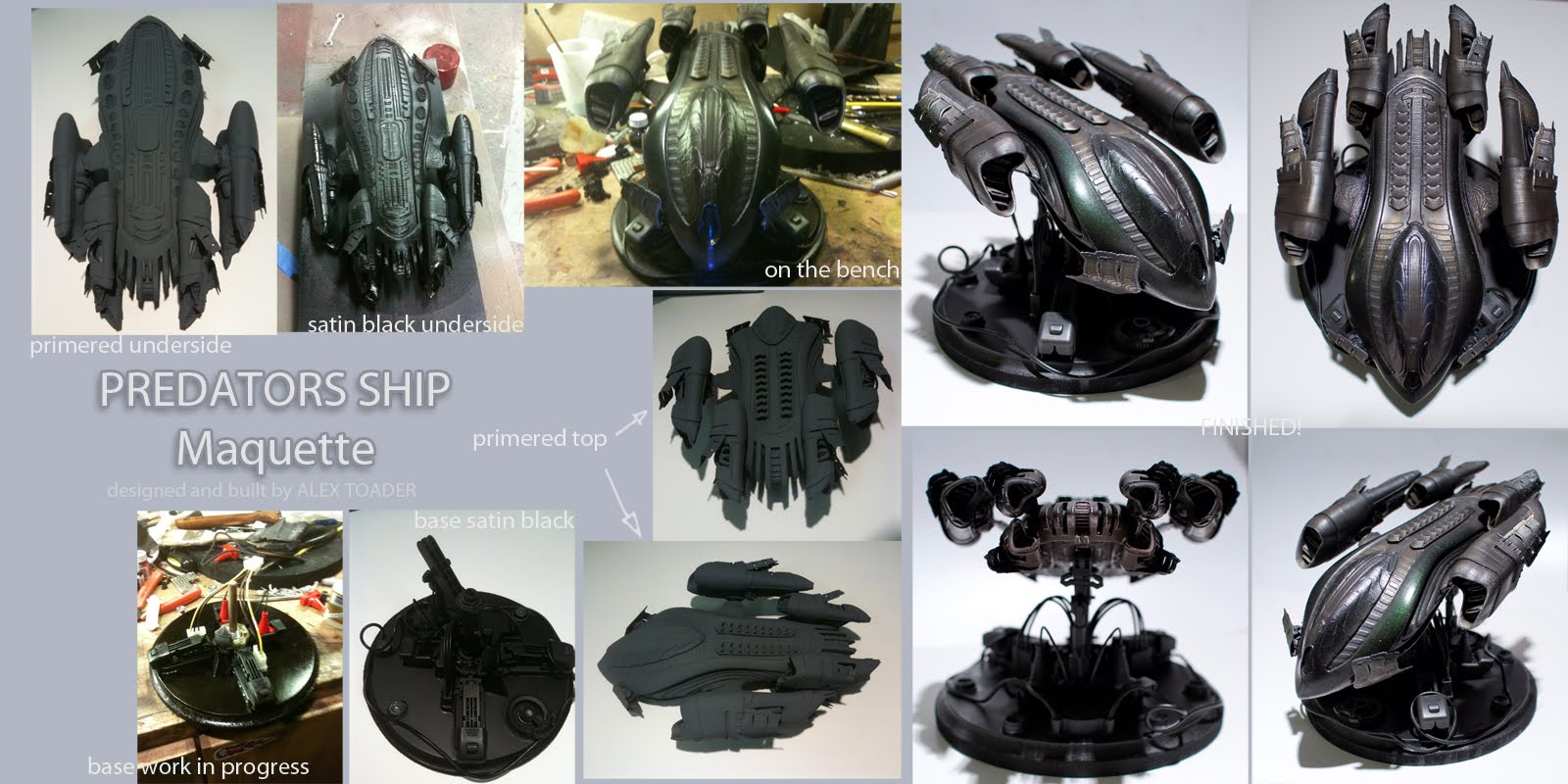 Predator Ship Concept Art