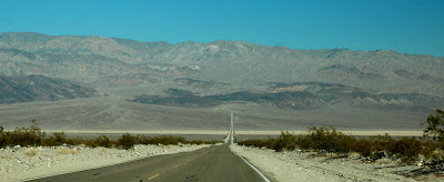 Rush hour at death valley