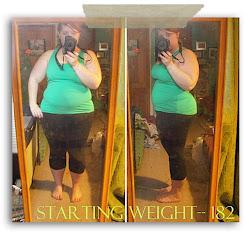 Starting Weight {Jan 2010}