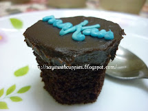 Cupcake-Choc Moist with ChocGanache topping