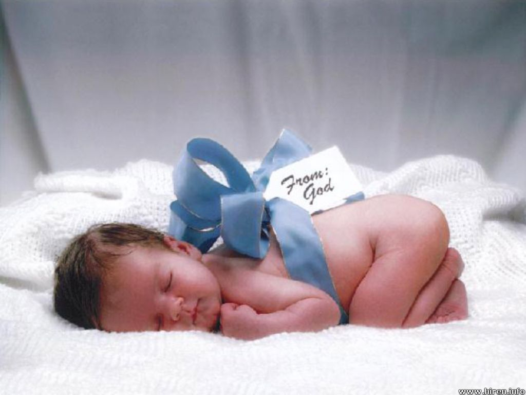 Cute Baby angel photo from God