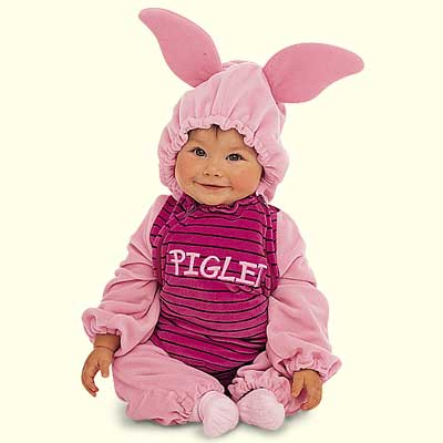 Cute Baby in animal Rabbit dress