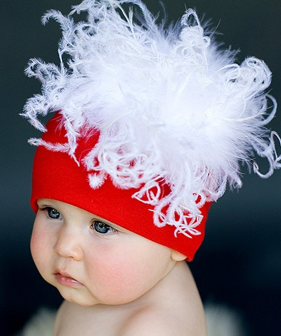 Baby Christmas holiday hat