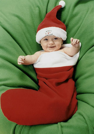 merry christmas baby boy photo