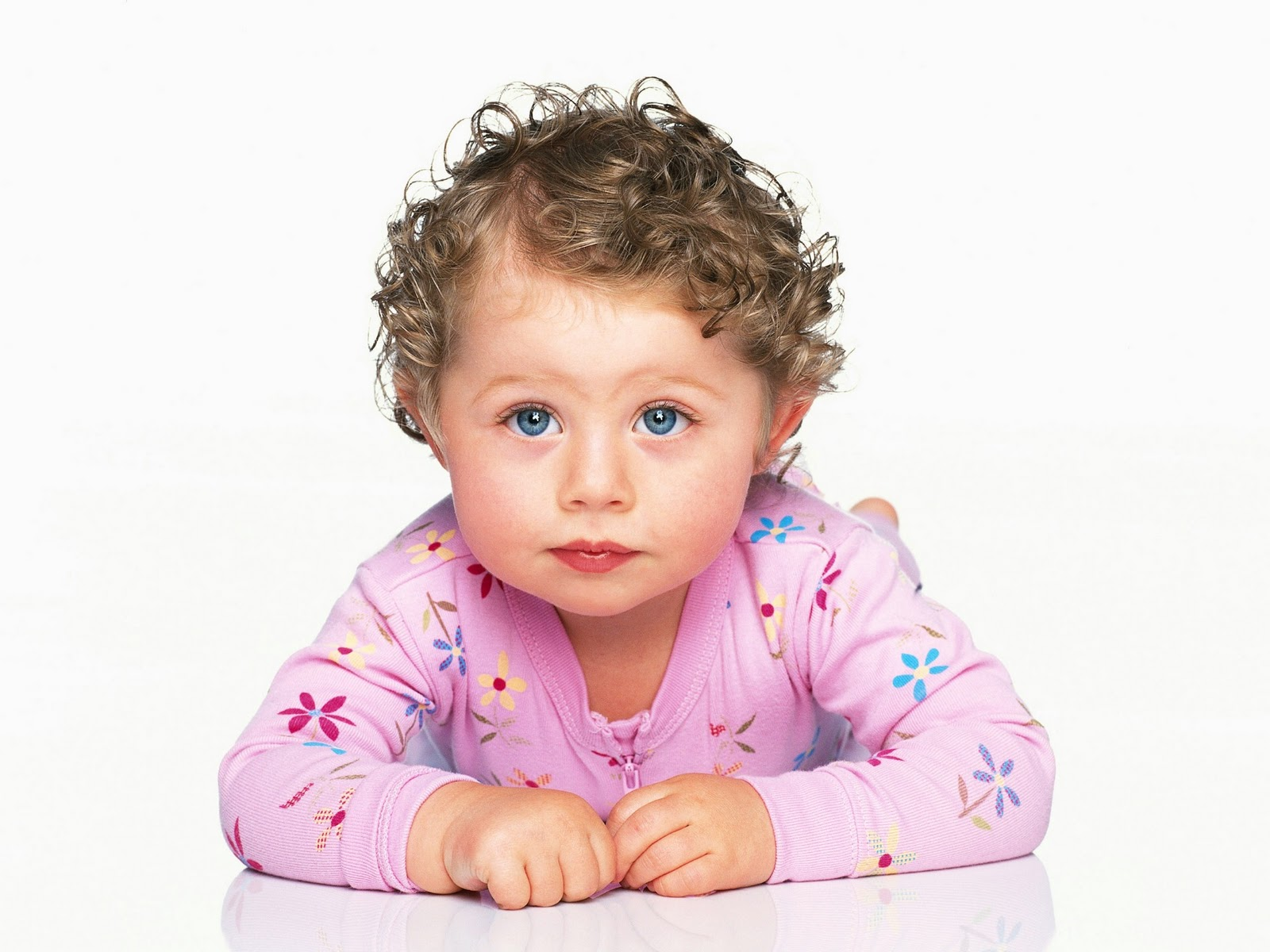 Cute baby girl child picture