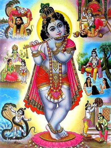 Krishna Janmashtami young krishna 001