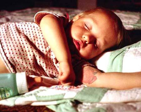 Cute Baby girl boy asleep so Hard photo 03