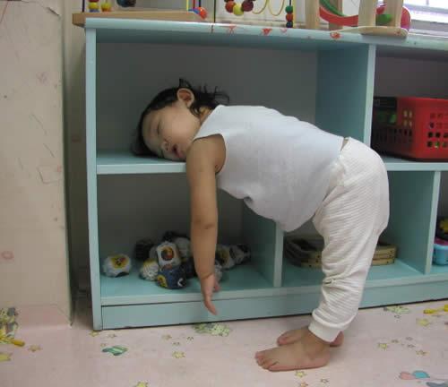 Cute Baby girl boy asleep so Hard photo 04