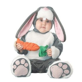 Cute baby like bucks bunny dressing picture