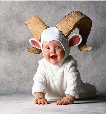 Cute baby like fancy dressing picture