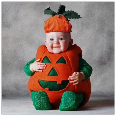 Cute baby like fruit dressing picture