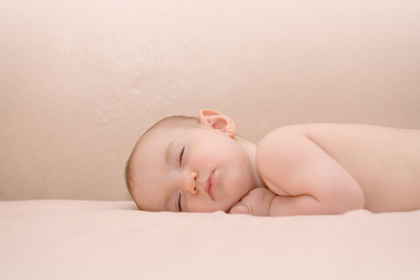 Cute innonce baby boy sleep desktop wallpaper